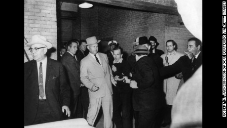 In front of reporters, Jack Ruby killed Kennedy's alleged assassin, Lee Harvey Oswald.