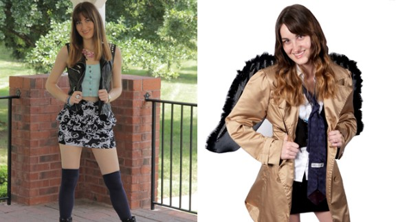 """Alyssa Carson is attending her third Dragon Con as """"Castiella,"""" a female version of popular """"Supernatural"""" character Castiel. """"What's special about cosplay to me is that not only is it fun, but it's also training for my career. I'm an actor and cosplaying gives me practice at staying in character, no matter what happens."""""""