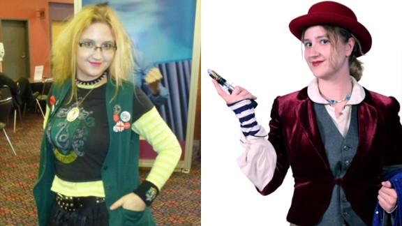 """Every year, fans at Atlanta's Dragon Con take part in """"cosplay"""" -- or costume play. A recent trend finds cosplayers putting their own twist on a character, such as Katrina Panzer's original creation of a female """"Doctor Who."""" """"I look beautiful and more than a little clever (in photos). The makeup I chose to go with the costume makes me look ageless in a way the Doctor should."""""""