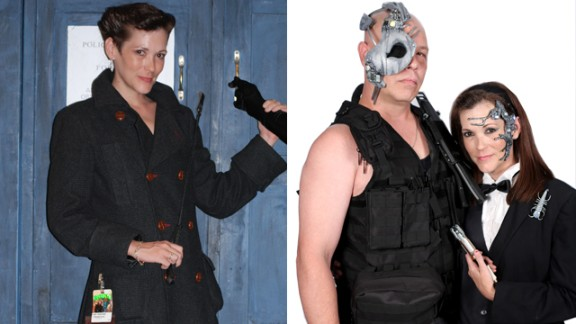 """Lady Soliloque of Concord, North Carolina, portrayed a female version of Mr. Clever, the Doctor's evil split personality on """"Doctor Who,"""" while her husband, """"JJ,"""" interpreted Webley. """"The sci-fi universe is vast so don't limit yourself because of your gender, funds, weight or race and don't worry about what other people think. It's all about involvement and fun."""""""