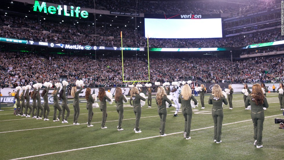 MetLife Stadium in East Rutherford, New Jersey is Wi-Fi enabled and will host Super Bowl XLVIII in February.