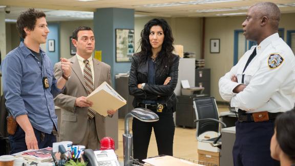 """Best TV series, musical or comedy: """"Brooklyn Nine-Nine"""""""