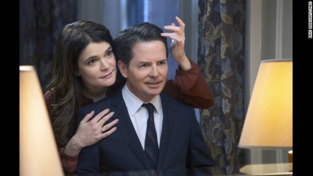 "Betsy Brandt starred on ""The Michael J. Fox Show"" as Annie Henry while Fox played Mike Henry."