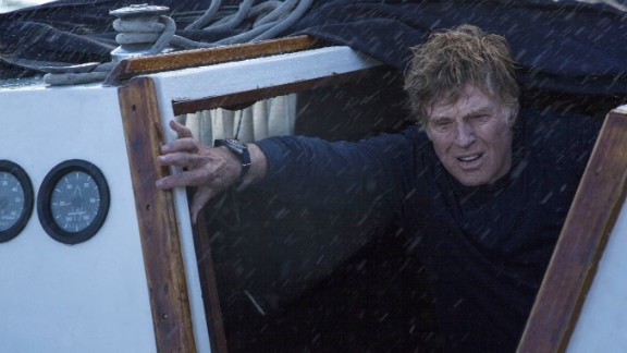 "Robert Redford was an aging sailor adrift alone on the Indian Ocean in 2013's ""All is Lost."""