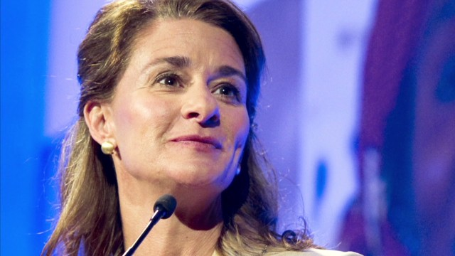 Melinda Gates on lifting women's voices