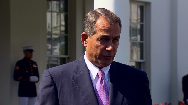 Boehner: I'm supporting Obama on Syria