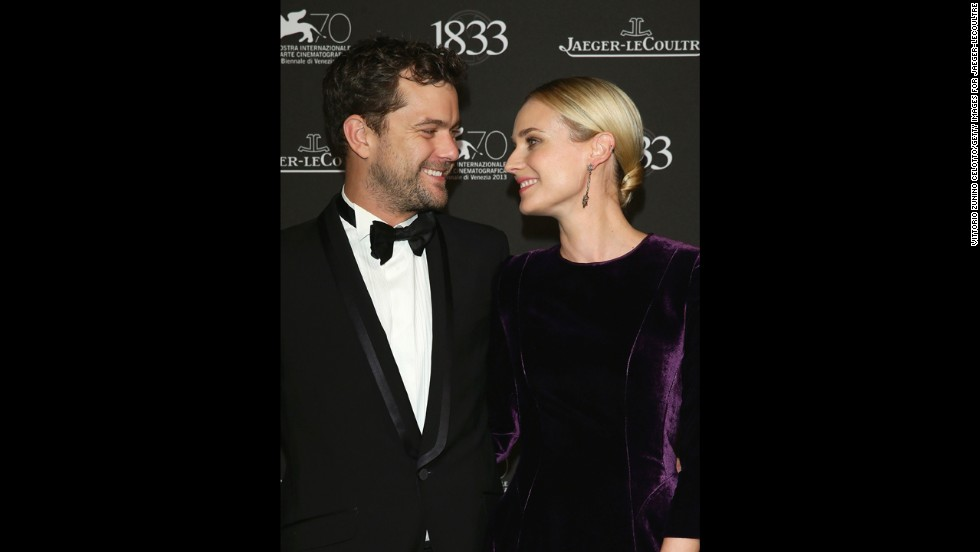 Actors Joshua Jackson and Diane Kruger attend a gala dinner hosted by Jaeger-LeCoultre celebrating its 180th anniversary at Teatro La Fenice on September 2.