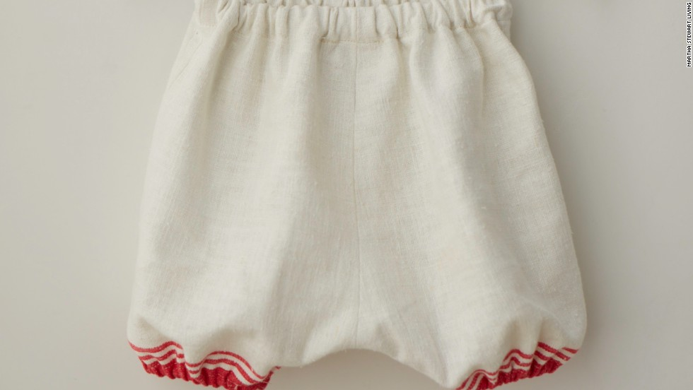 Since these dresses are pretty short, complete the look and add a little coverage with bloomers.