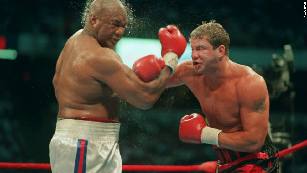 "Ex-heavyweight champion <a href=""http://www.cnn.com/2013/09/02/showbiz/boxer-rocky-v-dead/index.html"">Tommy Morrison</a> died September 1, according to his former promoter Tony Holden. He was 44. Morrison defeated George Foreman in 1993 for the World Boxing Organization's heavyweight title. He also won fame for his role in ""Rocky V."""