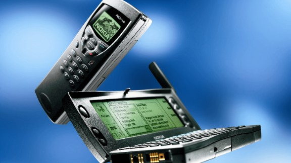 Nokia 9110i Communicator, released in 2000. As retailers throughout the last century showed, if you make and sell your own products, the margins can be higher, and the profits better.