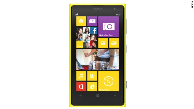 The Nokia Lumia 1020 packs a whopping 41 megapixels into its camera.