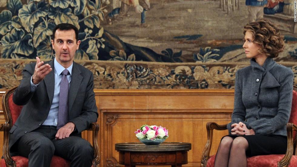 Syrian President Bashar al-Assad and his wife Asma test positive for Covid-19