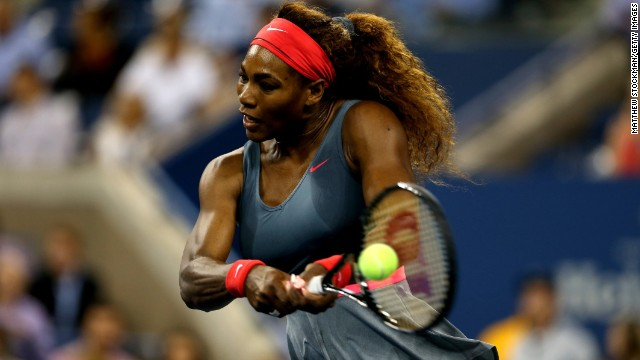 World No. 1 Serena Williams is bidding for a fifth U.S. Open singles title.
