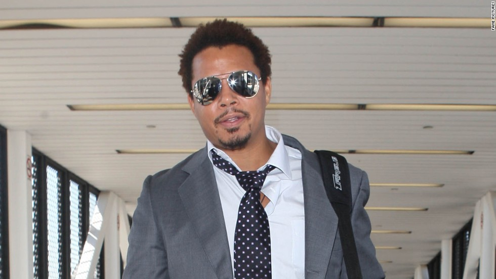 Terrence Howard looks dapper as he heads out of Los Angeles on September 3.