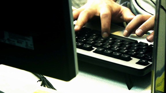 Computer keyboard hacker