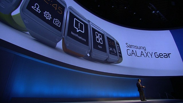 Samsung announces Galaxy Gear smartwatch