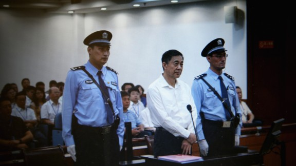 Bo Xilai was sentenced to life in prison for bribe-taking, 15 years for embezzlement and seven years for abuse of power.