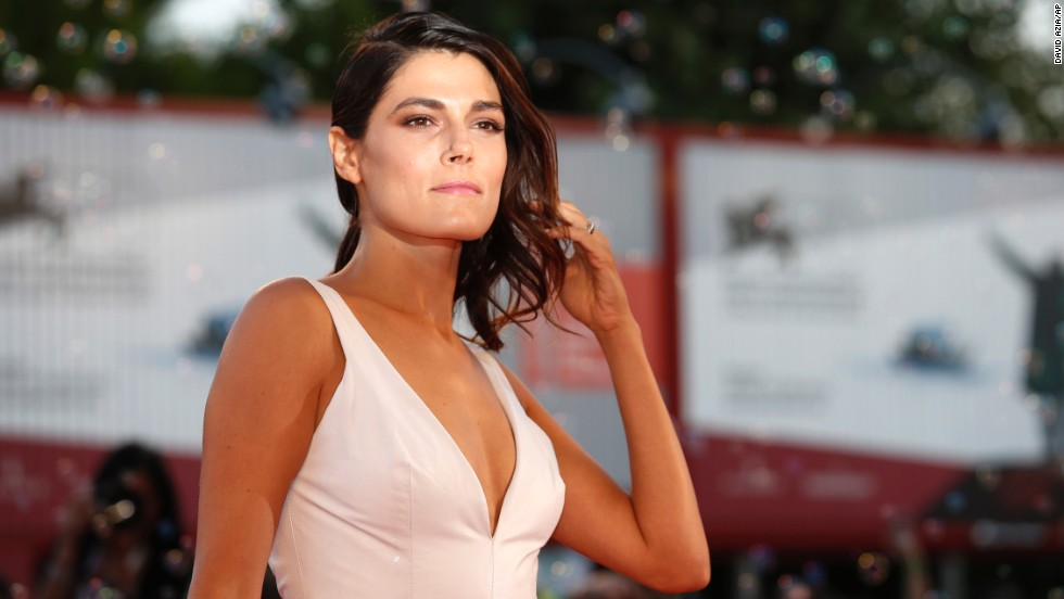 "Actress Valeria Solarino works the red carpet during the photo call for the film ""The Intrepid"" on September 4."