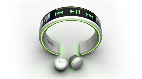 Brazilian designer Dinard de Mata proposes the 'Creative Player' - a smartwatch and MP3 player concept that charges with your own pulse. OK so it's not <em>quite</em> in the shops yet but it's a cool idea, alright?