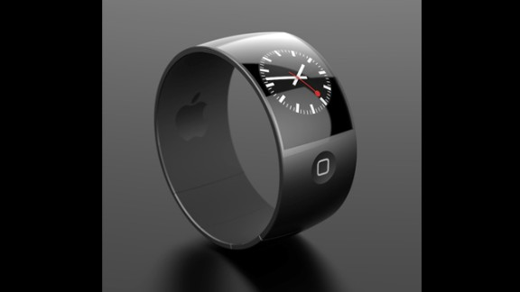 Comfort reigns supreme with Esben Oxholm's sleek black iWatch concept. It has a curved aluminum exterior with a soft matte rubber interior. It's the design with the greatest resemblance to Apple's current products.