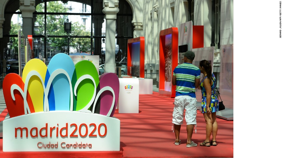 Organizers of Madrid's Olympic bid say the economic crisis in Spain will not affect the country's ability to stage the Games. Madrid is bidding for the third time after failing to win the vote in 2012 and 2016.