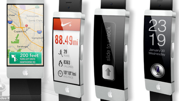 Pavel Simoenov's iWatch concept constantly checks and learns about your environment. You don't have to ask -- you just twist your arm to check for weather, location, places nearby or even your medical condition.
