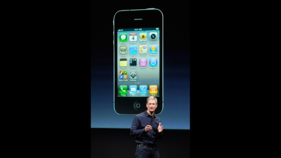 New Apple CEO Tim Cook unveiled the iPhone 4S at the company's Cupertino, California, headquarters on October 4, 2011 -- the first time he had introduced a new product since Jobs stepped down in August. It was a bittersweet day for Cook, who knew Jobs was near death. Indeed, Jobs died the next day after a long battle with cancer.