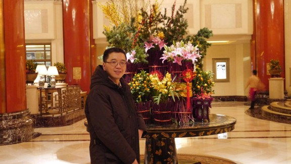 Yu Qiyi (pictured) had been detained for more than a month over a land deal, according to his family.