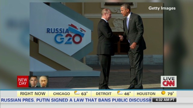 Obama, Putin and their body language