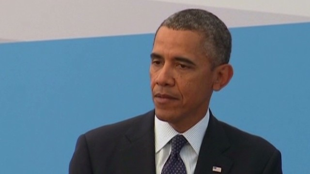 Obama: Syria is not a political ploy