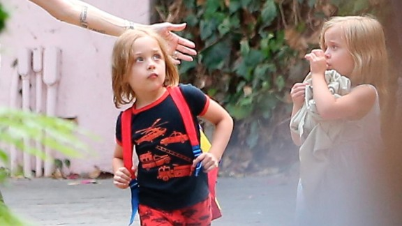 """Now 5, Knox Leon is already a world-traveler. He and his family visited Berlin in the summer before his fifth birthday, and after Labor Day touched down in Australia, where Jolie will reportedly film her next movie, """"Unbroken."""""""