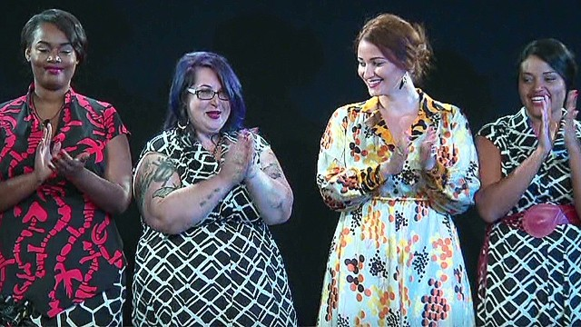 Fashion Week's first plus-sized designer