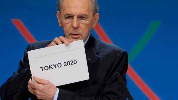 IIn 2013 then IOC president Jacques Rogge announced the winner of the bid to host the 2020 Summer Olympic Games following the vote in Buenos Aires.