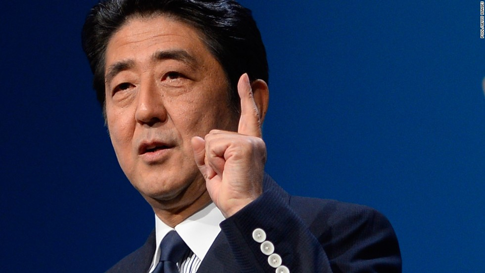 Prime Minister Shinzo Abe took time out from the G20 meeting in Russia to lead Japan's presentation, downplaying fears over radiation leakage at the Fukushima nuclear plant.
