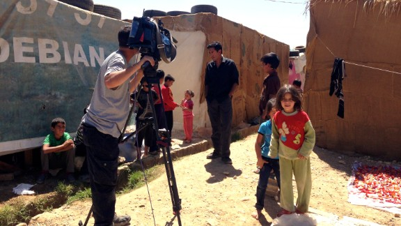 CNN's Dr. Sanjay Gupta reports from a refugee settlement in the Bekaa Valley in Lebanon, which borders Syria. It's estimated that nearly 1.5 million Syrians have fled to Lebanon to escape the ongoing violent conflicts.