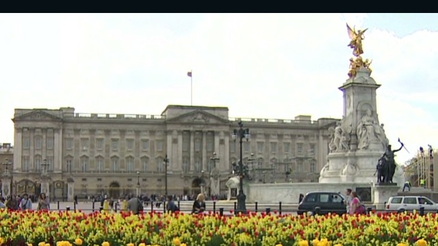 Man scales fence at Buckingham Palace