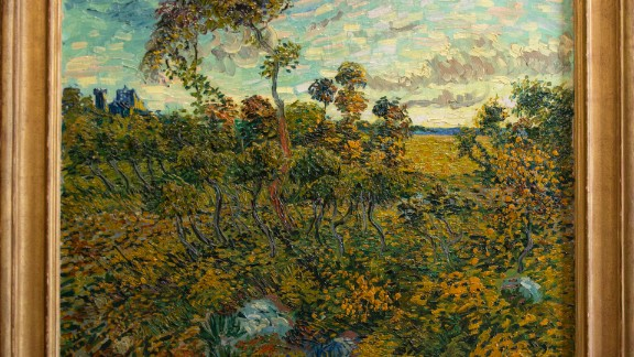 """The """"Sunset at Montmajour"""" was painted in 1888. The museum has identified the painting after """"extensive research into style, technique, paint, canvas, the depiction, van Gogh's letters and the provenance."""""""