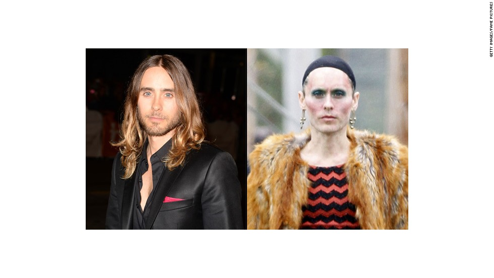 "<a href=""http://www.thewrap.com/jared-leto-on-how-he-lost-40-lbs-for-aids-role-i-stopped-eating/"" target=""_blank"">Jared Leto </a>said he shed nearly 40 pounds to play a transsexual woman living with AIDS in ""Dallas Buyers Club."""