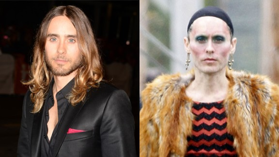 "Jared Leto said he shed nearly 40 pounds to play a transsexual woman living with AIDS in ""Dallas Buyers Club."""