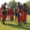 maasai cricket warriors team dance