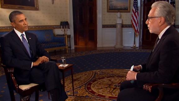 obama wolf interview split
