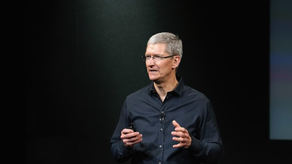 Apple CEO Tim Cook kicked off the company