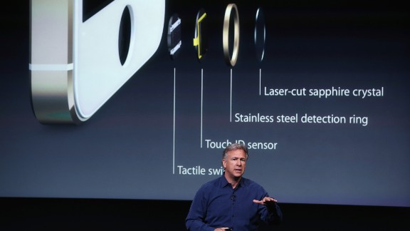 Phil Schiller talks about the new fingerprint sensor on the iPhone 5S