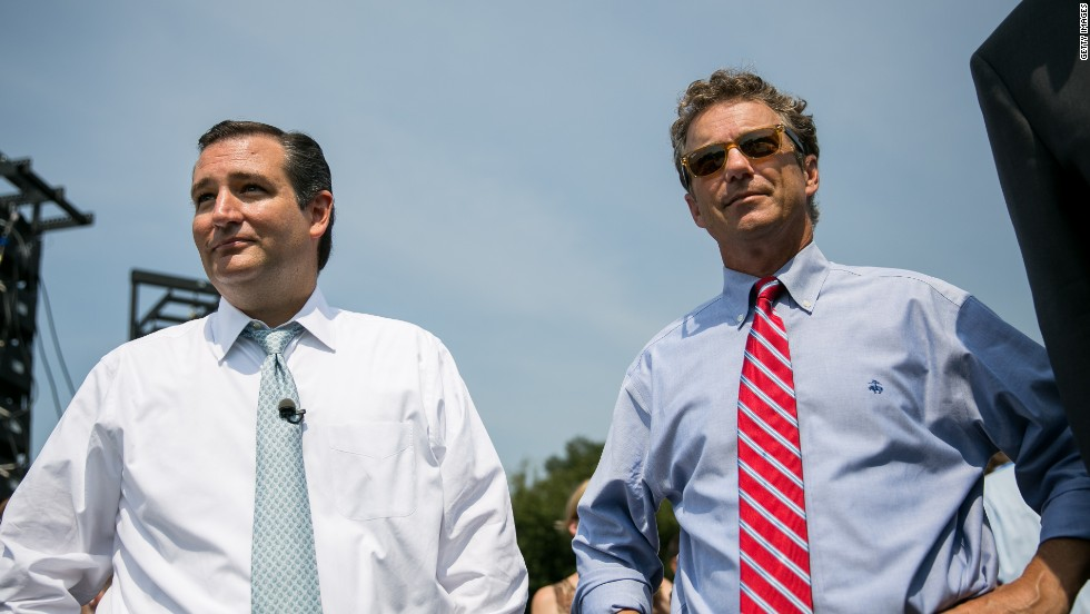 Cruz, Paul spar over Iran