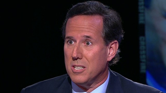 Santorum: No moral obligation to strike