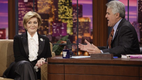 """Sharon Osbourne said in 2013 that she and former """"Tonight Show"""" host Jay Leno had a """"flingy-wingy"""" when she was 25. (It was before her marriage to Ozzy Osbourne.)"""