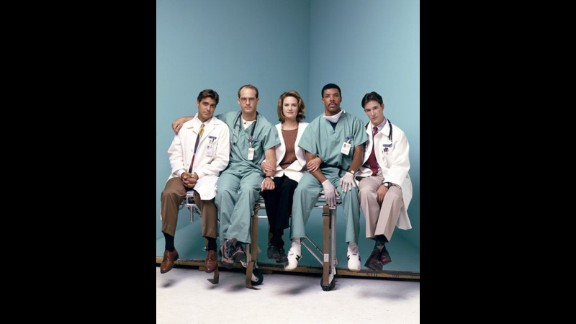"""ER"" was must-see TV for many, and while George Clooney, left, is now an actor and director extraordinaire, we loved him as the womanizing Dr. Doug Ross on that series."