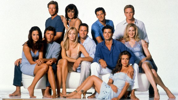 """In some circles, """"Melrose Place"""" was considered the adult version of """"Beverly Hills, 90210"""" -- which is pretty crazy if you knew the real ages of some of the """"90210"""" actors at the time."""