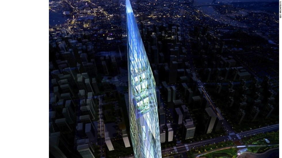 "<em>Tower Infinity</em><br /><br />This revolutionary 450 meter-tall skyscraper aims to become the world's first ""invisible"" building when it's completed in Seoul, South Korea, later this year.  It will achieve that illusion with the help of a high-tech LED facade system, which uses a series of cameras to send real-time images onto the building's reflective surface. <br /><br />Designed by <a href=""http://gdsarchitects.com/flash/index.html"" target=""_blank"">GDS Architects</a>, the tower will have an adjustable level of power, giving it different levels of invisibility.<br /><br /><br /><br />"