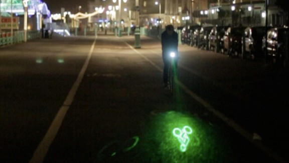 It's an all too familiar story: driver doesn't spot cyclist. Driver turns. Driver hits cyclist. But what if cyclist had all the tools to protect them from danger? With the latest in bicycle gadgetry, they can. Making your presence known on your two-wheeled adventure is key to survival and the Blaze bike light by British designer Emily Brooke does exactly that. A front-mounted light powered by bright LEDs, Blaze projects a green laser image of a bicycle onto the road ahead to let motorists know you are coming.